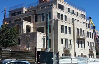 בניין מגורים בירושלים
